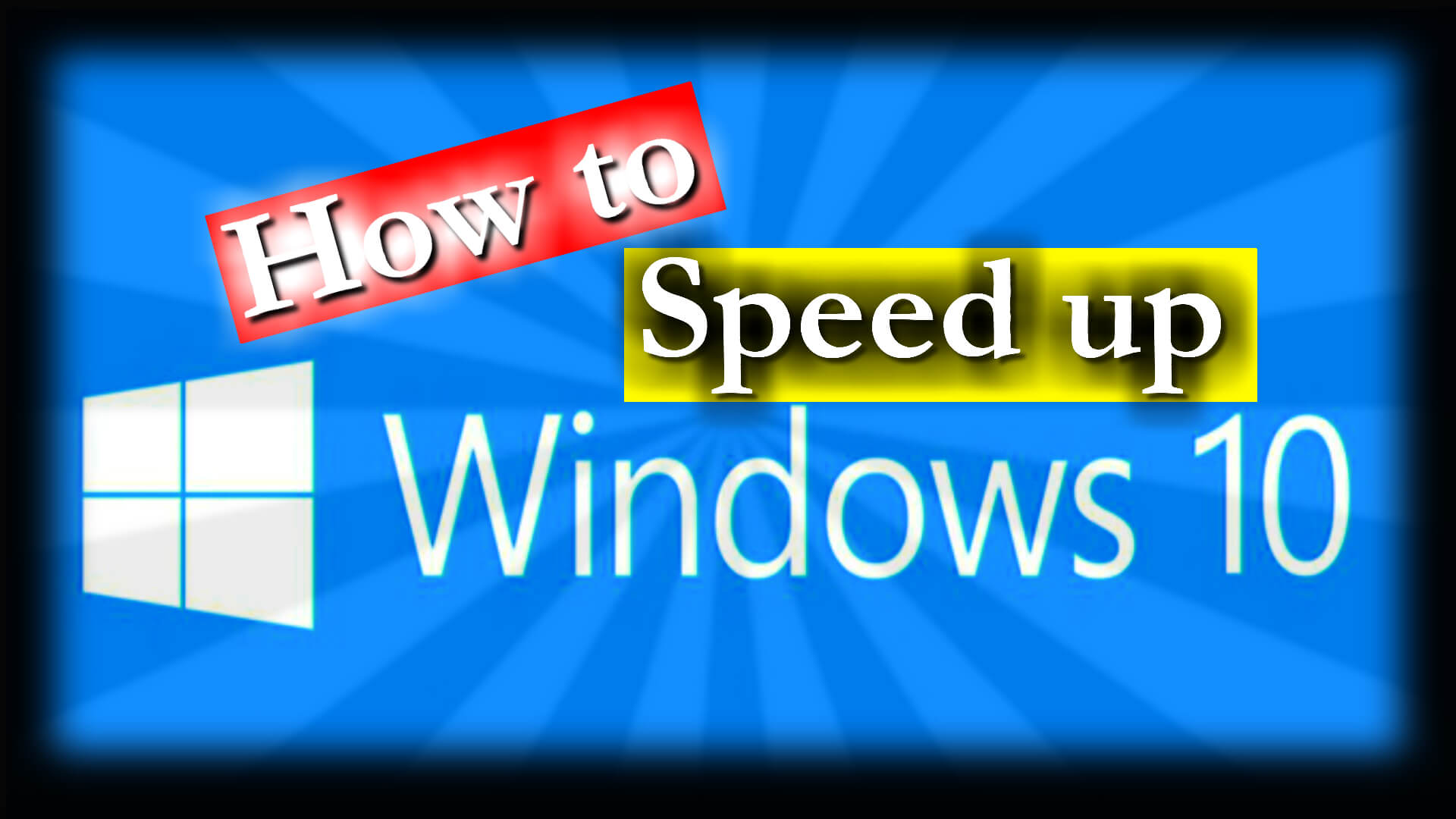 How to Improve Windows 10 Performance | White Armour Consulting